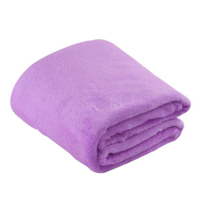 Feuilles d'hiver Couvre-lit Canapé Canapé Tissu Flanelle Couverture de corail CouleurL Couverture Velvet Enfant genou DSF0026
