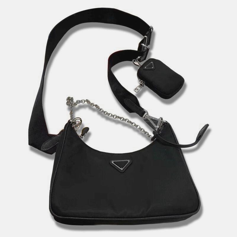 Mode Handtaschen für Frauen Umhängetaschen Dame Brust Pack Composite Totes Ketten Leinwand Handtasche Geldbörse Messenger Bag
