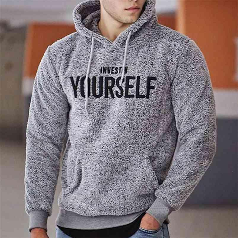 Zity Hoodies Hommes Automne Terre Casual Sweat à capuche Mens Sweatshirts Pull Sweet Homme Homme Homme Champuelet chaud Streetwear 4XL 5XL 210728
