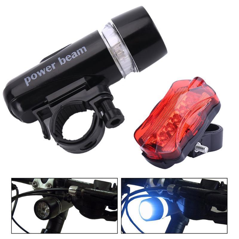 Bike Lights Mountain Light Front Rear LED Rainproof Bicycle HeadLight 800mAh Battery Power 300LM MTB Road Lamp Lantern