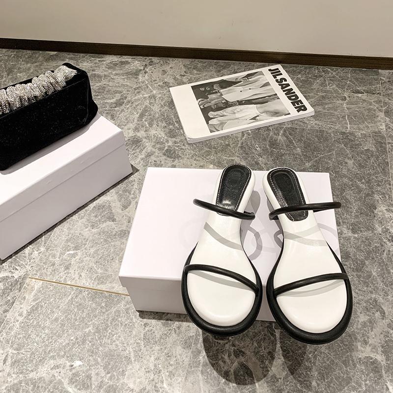 2021 Sommer Mode Strand Hohe Qualität Damen Sandalen Komfortable Plattform Keile Frauen Schuhe Schuhe Gladiator Offene TOE Slide Black