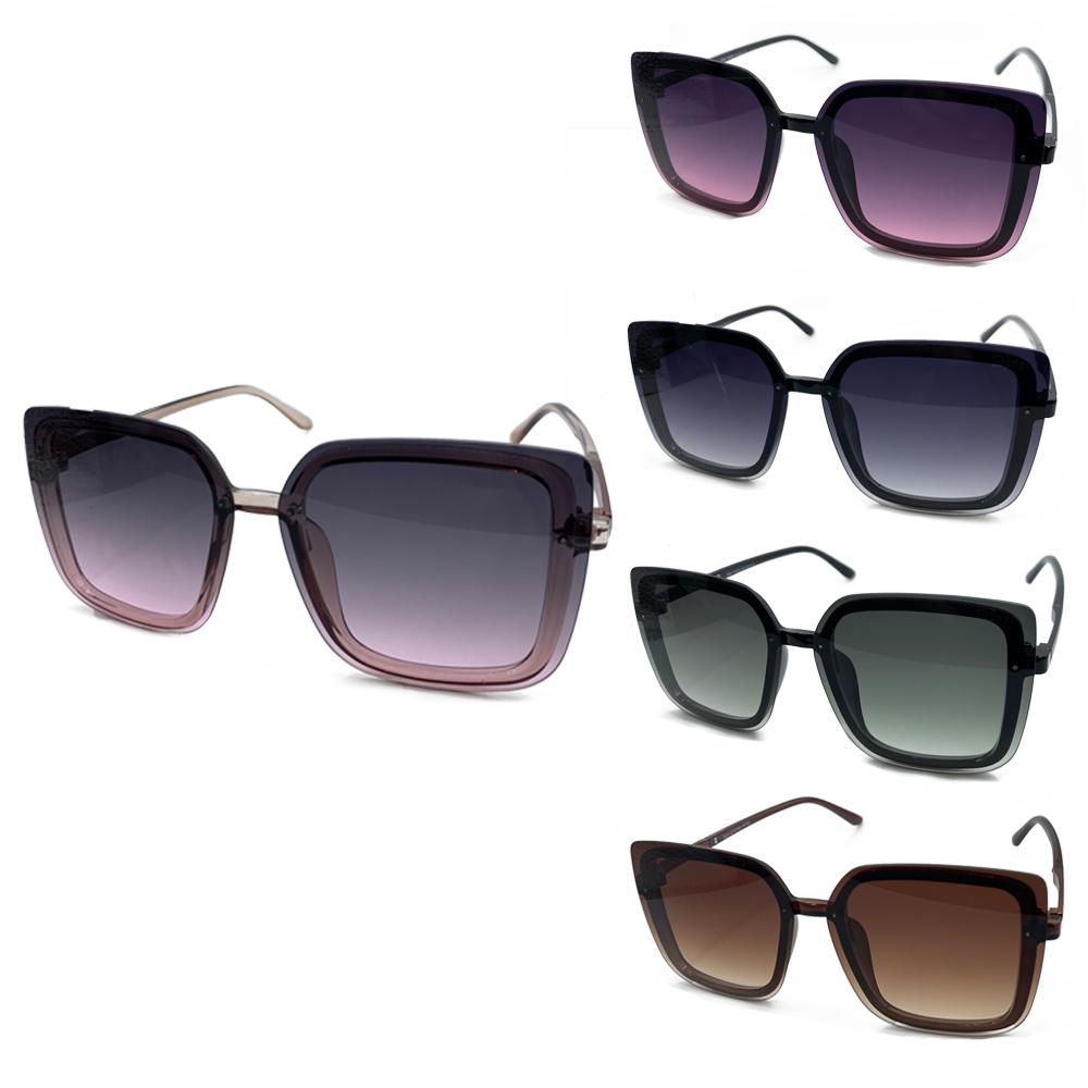 2021 Designer Square Sunglasses Men Women Vintage Shades Driving Polarized Sunglass Male Sun Glasses uv400 style gradient color lens 3718