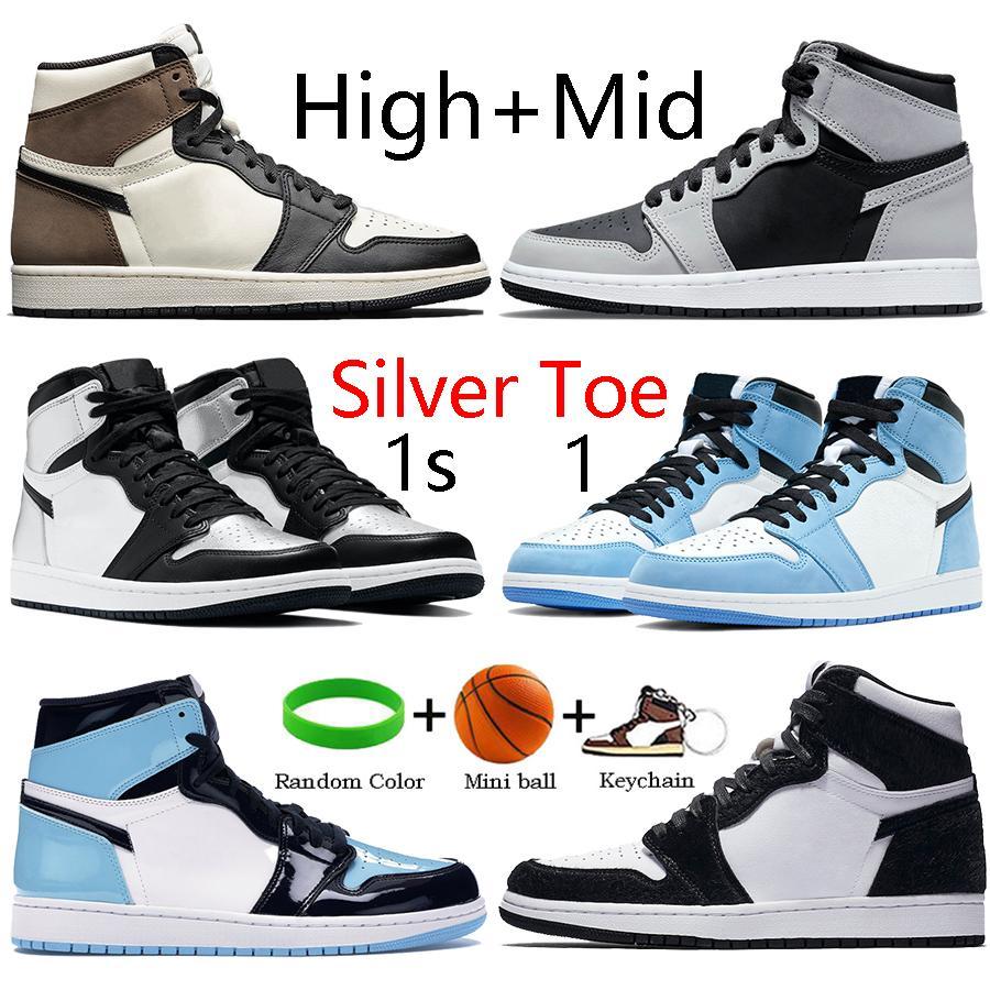 أعلى 1 1s أحذية كرة السلة عالية شيكاغو رويال بريد الأسود تو العاكس الأبيض 11 11 ثانية منخفض كونكورد 45 بليد الجري أحذية رياضية المدربين