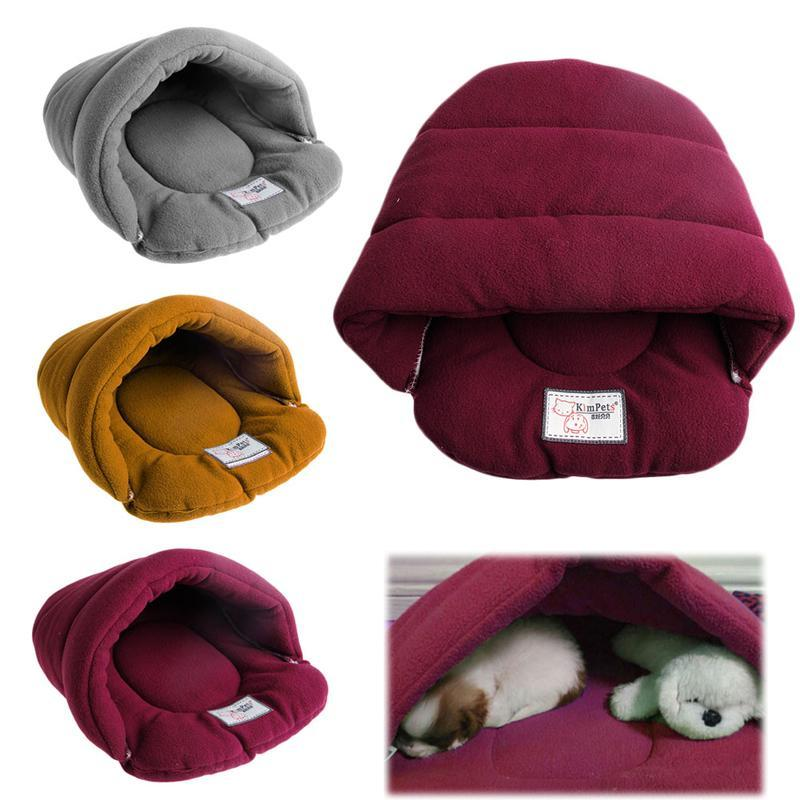 고양이 침대 가구 부드러운 따뜻한 애완 동물 침대 집 봉제 아늑한 둥지 매트 패드 쿠션 개 양질