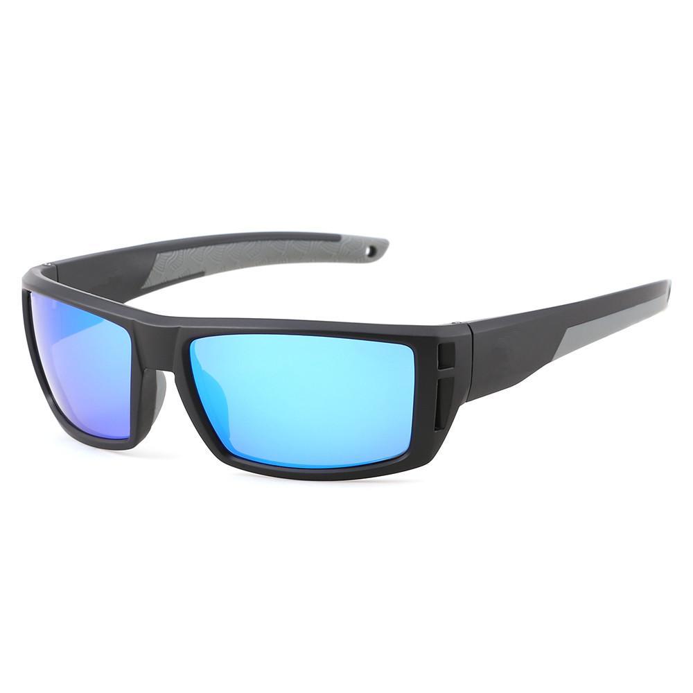 580P Polarized Sonnenbrille Männer Klassisches Quadrat fährung Sonnenbrille Eyewear Männlich Del Sports Radfahren Gute Qualität UV400 Oculos TR90 6 Farben 5CPS Fabrikpreis