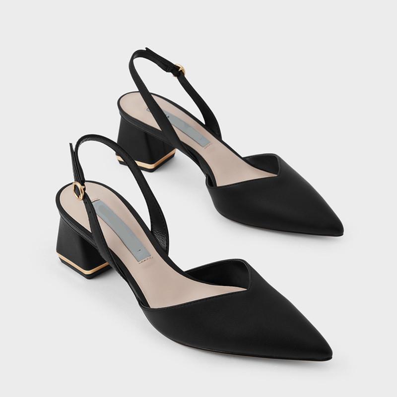 Weibliche Sandale Slip-on Müßiggänger Sommer Frauen Große Größe Shallow Mund High Heels Schuhe Mädchen spitz sexy elastische Band Komfort bandalen