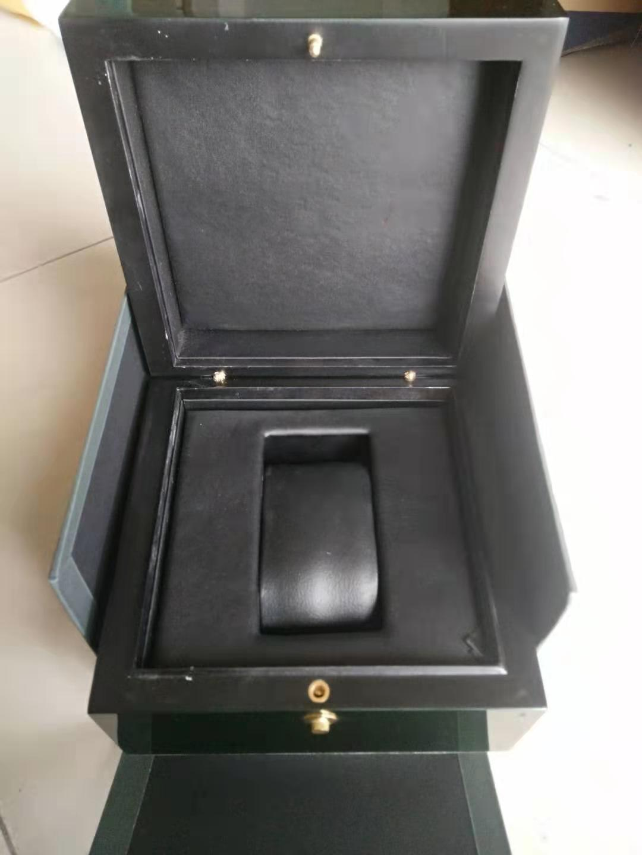 Hohe Qualität Herren Watch Box Woman's Uhren Boxen Geschenke Papierkarten Holzkiste