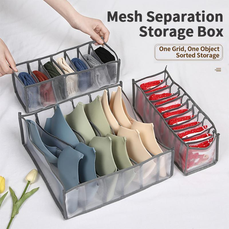 Storage Drawers Bra Boxes Underwear Clothes Organizer Drawer Non-woven Divider Closet For Folding Ties Socks Shorts