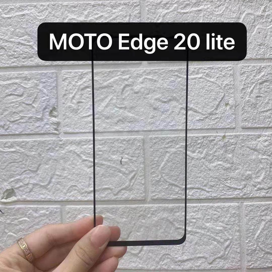 Full Cover Tempered Glass Screen Protector Silk Printed For MOTOROLA Moto Edge LITE E7I Power EDGE 20 PRO 200pcs/lot