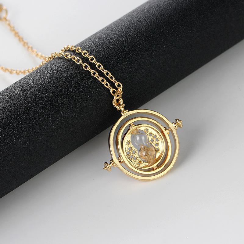 Film périphérique harry potter time convertisseur pendentif collier collier collier