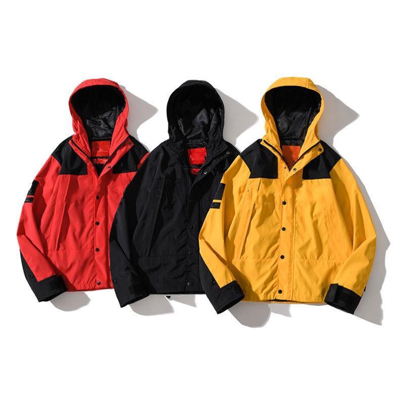 Erkekler Ceketler Kapüşonlu Mont Rüzgarlık Bahar Sonbahar Kış Spor Hip Hop Ceket Bayan Açık Streetwear Moda Tasarım Coat JK8100