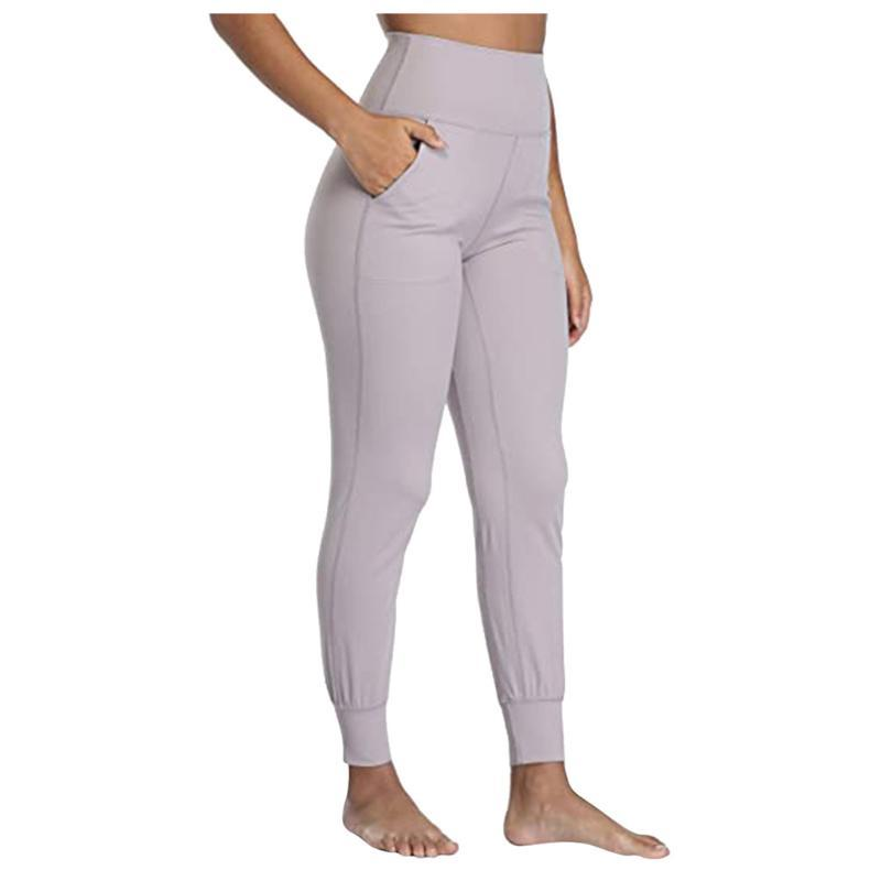 Women's Leggings Women Casual Workout Fitness Sports Pants Slimming Gym Sweatpants Pure Color