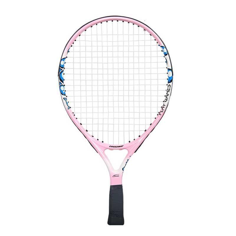 Raqueta de tenis para niños de 19 pulgadas de cruce de 19 pulgadas Trajes para niños para principiantes de carbono ultraligero