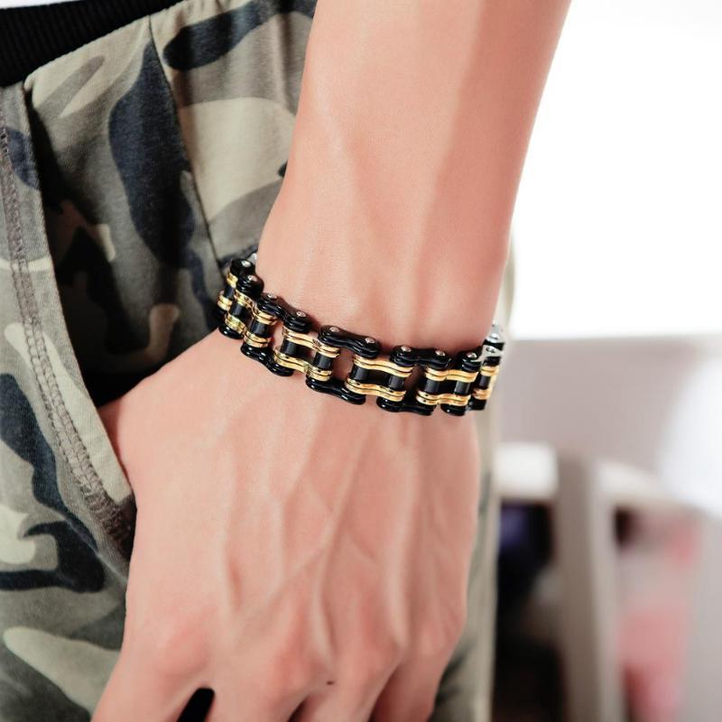 Chaonan stillokomotive armband boy personalität titanium stahl kettenglied armbänder männer mode cn (origin) link,