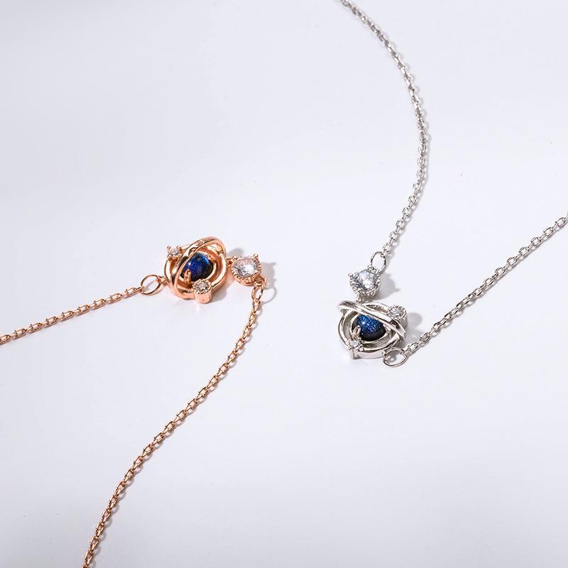 Charm Bilezikler Rüya Yıldız Saf Gümüş Moda Tasarım Niş Elpiates Kore Versiyonu Basit Cam Bilezik1QHX6NTG