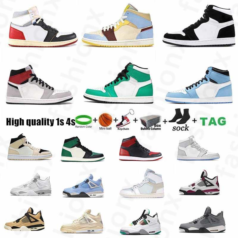 [Kutusu ile]  AIR JORDAN 1 MID SE AJ1 shoes Jumpman 1 Erkek Basketbol Ayakkabıları Paramparça Geze UNC 1 S Altın Top 3 Kaktüs Jack Obsidiyen Yasaklanmış Bred Toe Erkek Sneakers