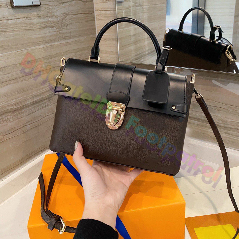2021 Tote Luxurys Tasarımcılar Çapraz Vücut Çantaları Kadın En Kaliteli Omuz Çantası Sırt Çantalar Moda İş Deri Çanta Debriyaj Çanta Moda Cüzdan