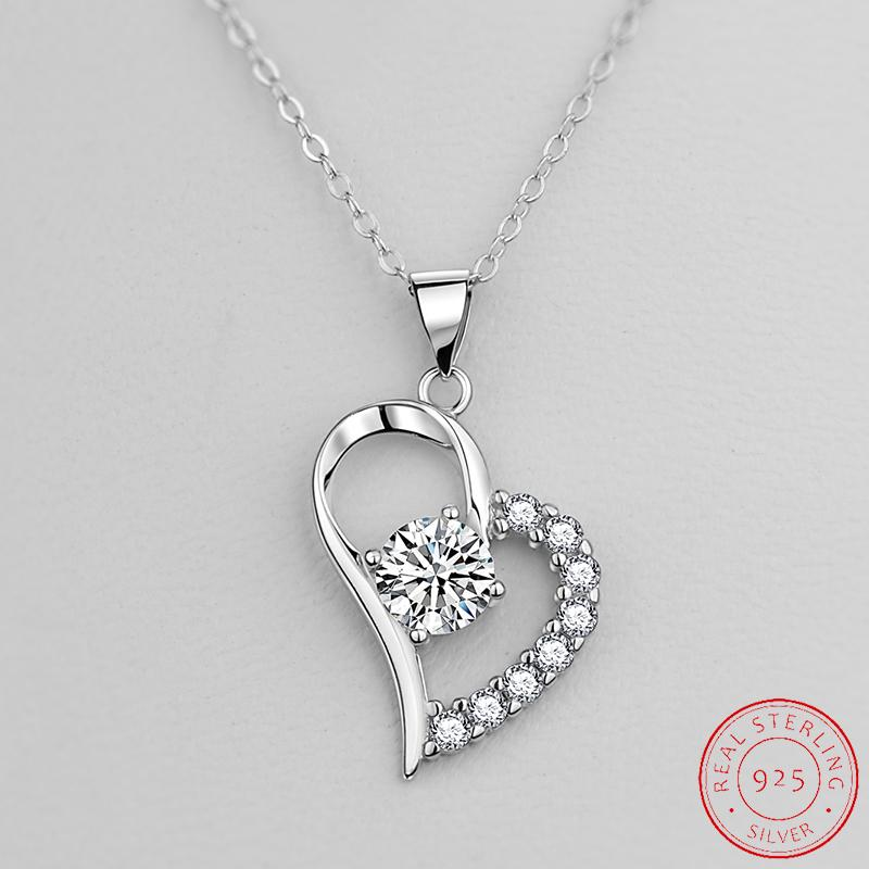 2021 Fashion Necklaces Pendant 925 sterling silver for women lady anniversary gift jewelry wholesale XD122