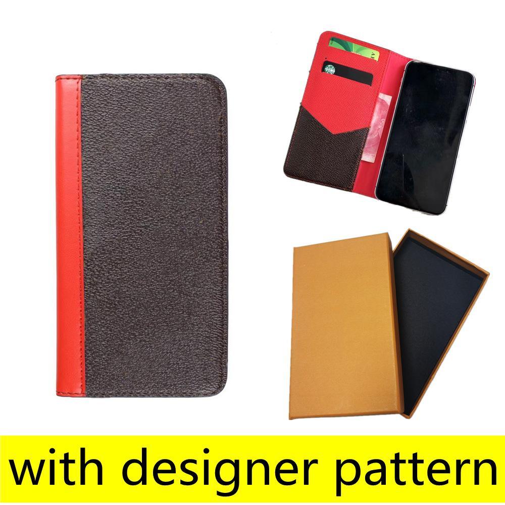 أعلى أزياء مصمم محفظة الحالات الهاتف آيفون 12 11 برو ماكس xs xr xsmax 7 8 زائد جودة عالية الجلود بطاقة جيب ملصقا غطاء الهاتف المحمول