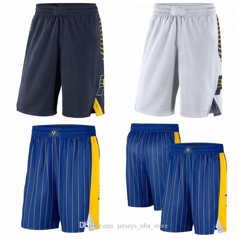 IndianaPacteurHommes 2020/21 City Swingman Pantalon Pantalon Performance Basketball Shorts