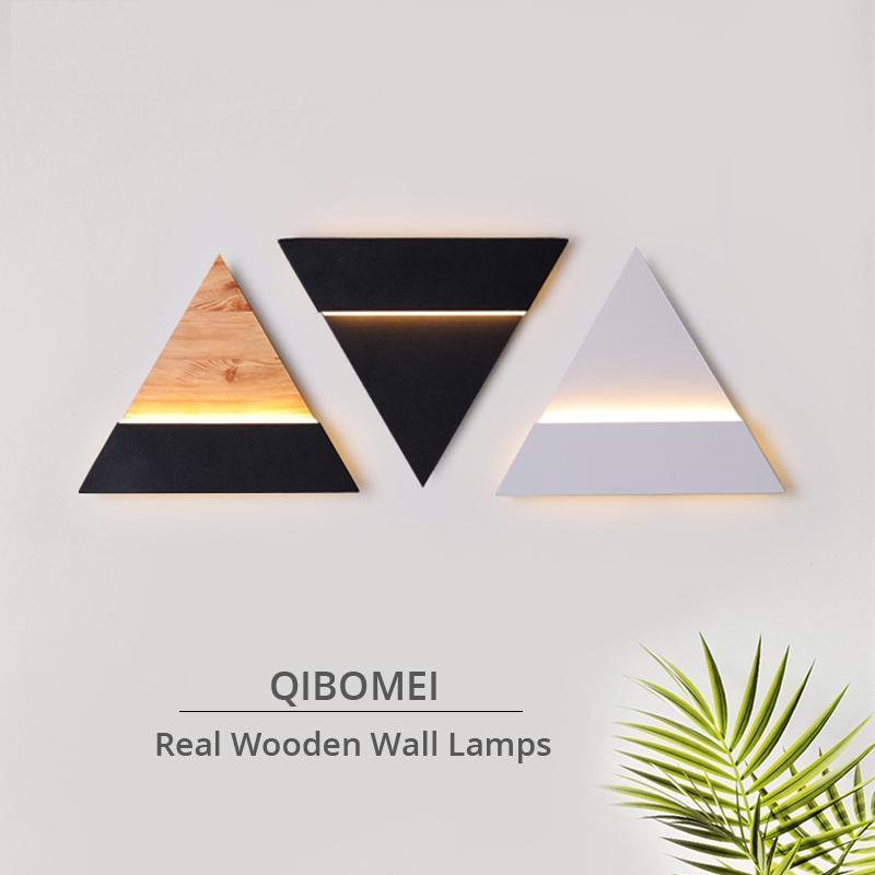 Wall Lamps Real Wooden Indoor Lights For Bedroom Corridor Stairs Bedside Study Room Attic Balcony Fixtures Lighting Lamp