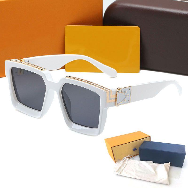 Top Quality Womans Sunglasses Gradient M96006 Luxury glasses High Qualitys Mens Metal hinge eye 96006 Designer eyeglass with Original cases box glitter2009