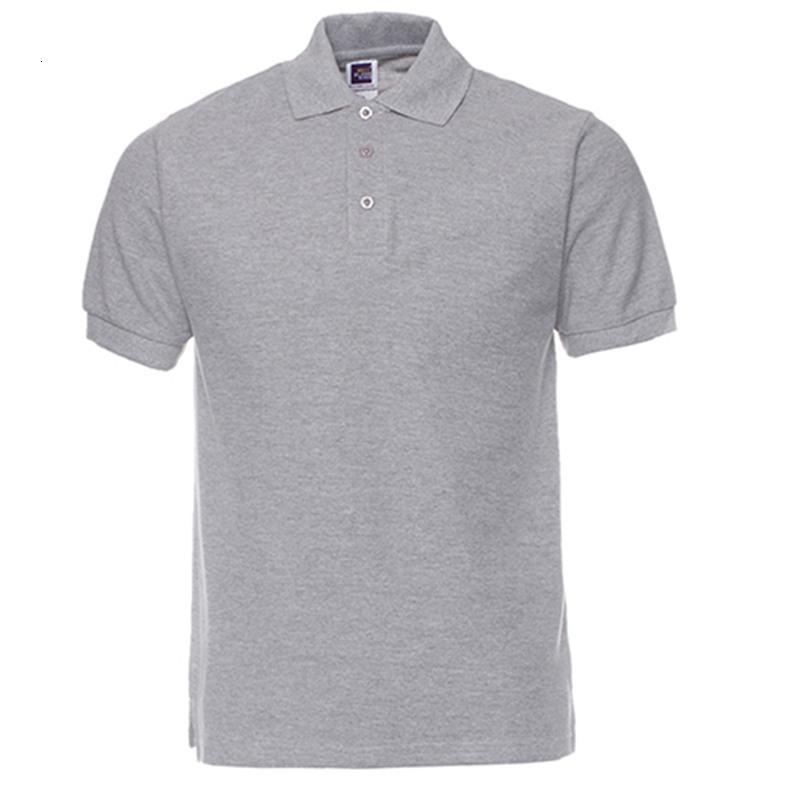 Fashion Business Hommes Vêtements Nouvelle Arrivée Polo Chemise Slim Casual Casual Respirant Polo Solide Coton Solid Hommes Polo Chemise Big Taille Drop Expédition