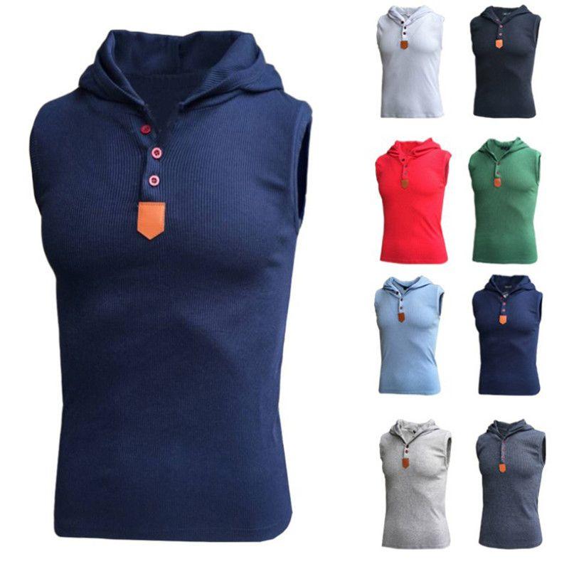 망 체육관 티셔츠 싱글 let 보디 빌딩 슬림 피트 까마귀 탱크 탑 조끼 솔리드 컬러 민소매 피트니스 티셔츠 3XL