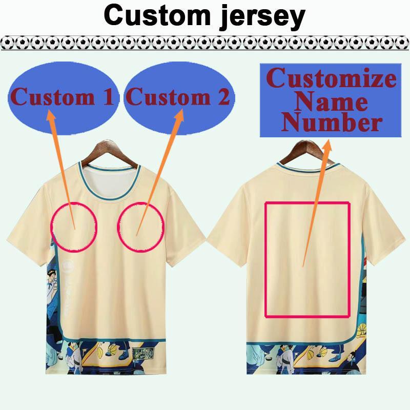 Custom National Team Club Mens Soccer Jersey Kit Vous pouvez personnaliser les chemises de football de design et le numéro tels que 25 Haerbing