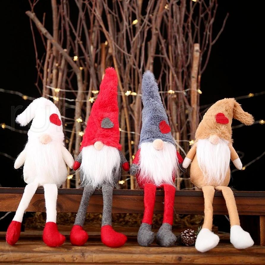 Noel Yeni Süslemeleri Peluş Bebek Dekorasyon Yaratıcı Orman Yaşlı Adam Ayakta Poz Küçük Bebek Yaratıcı Dekorasyon Çocuk Hediyeler 496