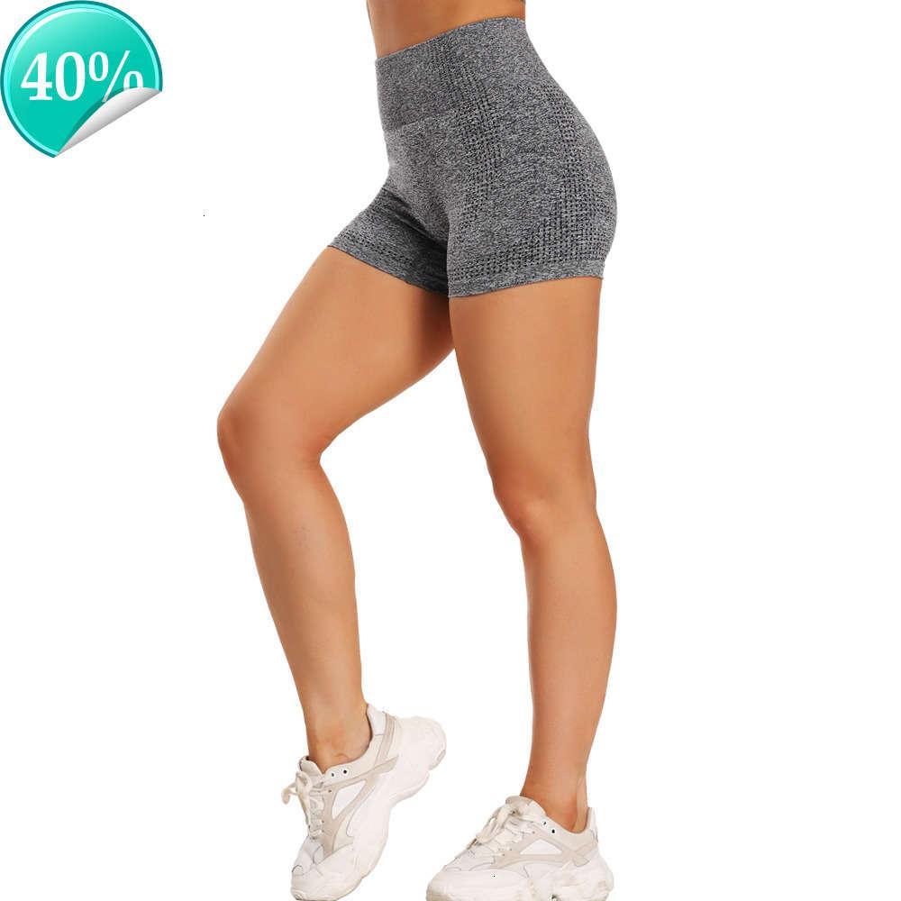Sport Nahtlose Fitness-Legging-Workout-Leggings Hohe Taille Schnell trockene dünne Fahrrad Kurze Hosen Frauen Elastische Freizeithose Zcaz