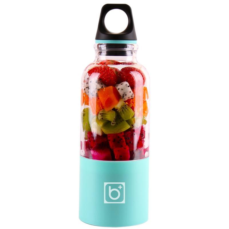 500 ml 2 Bıçakları Taşınabilir Blender Sıkacağı Makinesi Mikser Elektrikli Mini USB Gıda İşlemci Sıkacağı Smoothie Blender Kupası Makinesi Suyu DBC 1169 V2
