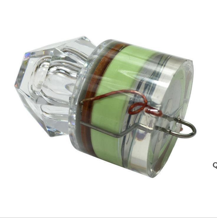 Gartenbedarf Tiefsee Diamant Lichtköder Nachtangeln LED Poly Unterwasser Leuchtende Wasserdichte Fischfalle Getriebe DHD6127