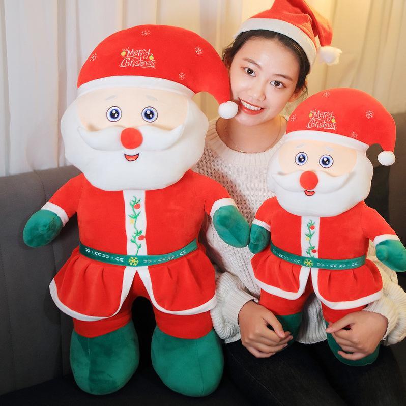 Poupées peluches santa claus jouets coupables de père Noël enfants poupées poupée fille oreiller cadeau de Noël