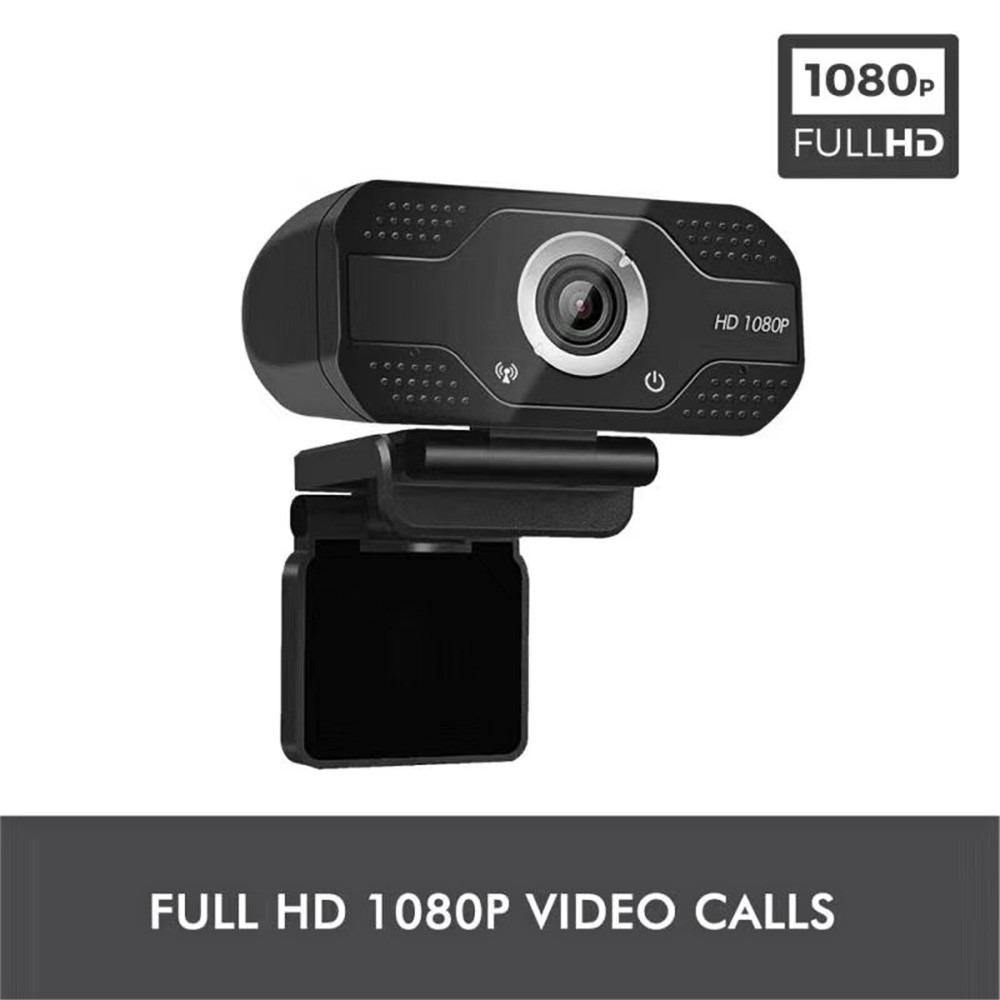 Webcam 1080P HDWeb Camera with Built-in HD Microphone 1920 x 1080p USB Plug n Play Web Cam Widescreen Video