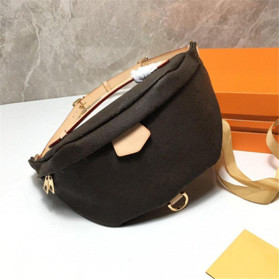 Newest Stlye Famous Designers Bumbag Cross Body Fashion Shoulder Bags brown Waist Bag Luxury Temperament Fanny Pack Bum Unisex Chest package M43644