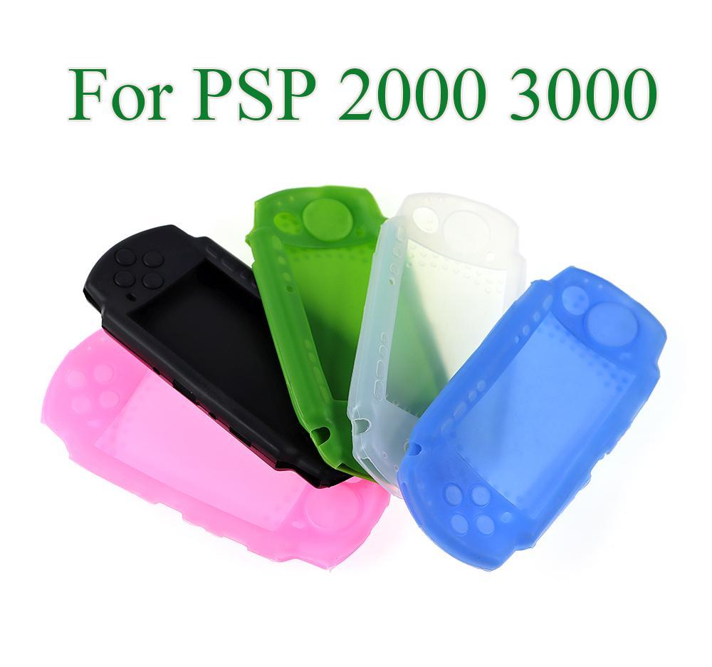 سيليكون غطاء لحالة حماية لينة ل PSP3000 PSP2000 PSP 2000 3000