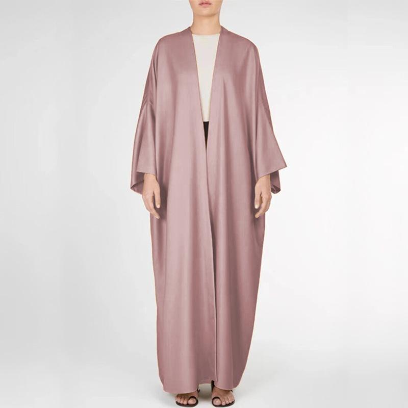 Vestuário étnico Vestido Muçulmano Cardigan Oriente Médio Ramadan Moda Vestes Dubai Abaya Turquia Mulheres Plus Size Robe Donsignet