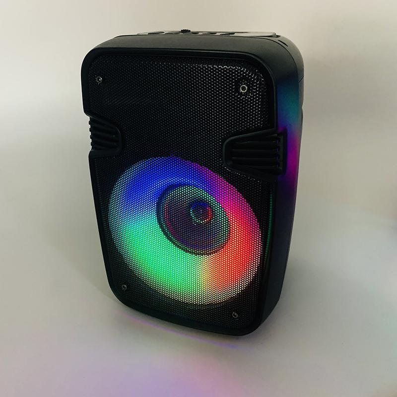 Altavoz inalámbrico de alta potencia Bluetooth Portátil de la columna al aire libre Bass Potente BT RGB Lighting Subwoofer Caixa de Som Radio AltaVoces para altavoces de PC