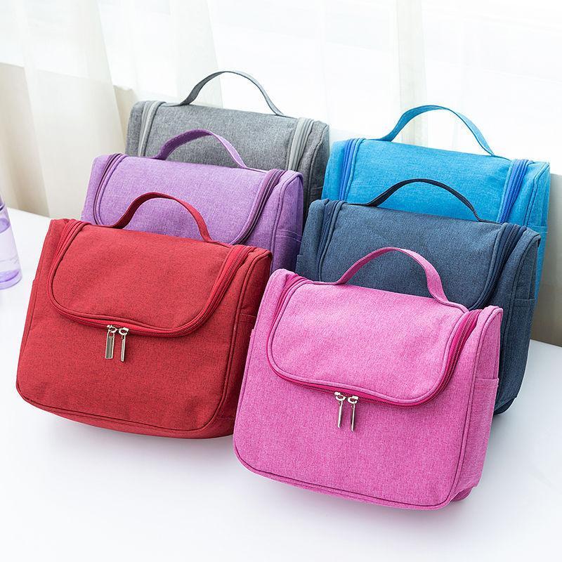حقيبة المرأة قابل للغسل تغسل التخزين التجميل شنقا ماء سعة كبيرة المحمولة حقائب السفر الحالات