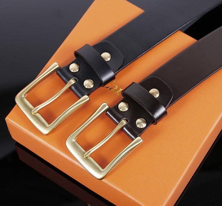2021 Fashion Big Fibbia Genuine Cintura in pelle con box Designer Uomo Donna di alta qualità cinture da uomo AAA208