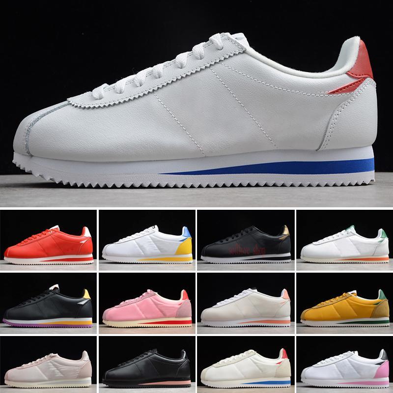 تشغيل أحذية الرجال والنساء عارضة الرياضة والجلود الأصلي سوبر موانع المشي أحذية رياضية 36-45