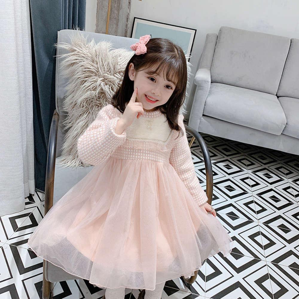 Девушки платья физические стрелкожили детская зима DRS Huzhou для девочек