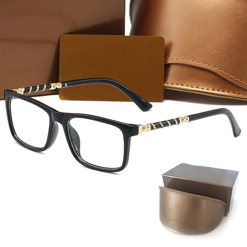 고품질 디자이너 여자 선글라스 8059 럭셔리 남성 태양 안경 자외선 보호 남자 안경 그라디언트 금속 힌지 패션 여성 안경 원래 상자