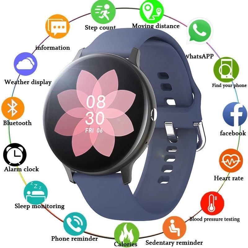 Smart Watch Мужчины Женщины Монитор сердечных сокращений Bluetooth Музыка Сол Водонепроницаемый SmartWatch Для iPhone Samsung Huawei Xiaomi