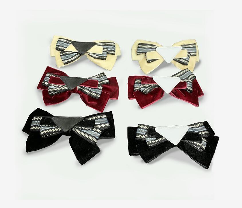아름 다운 클립 나비 머리핀 고품질 패션 여러 가지 빛깔의 삼각형 럭셔리 디자이너 여성 클립 우아한 헤어 액세서리