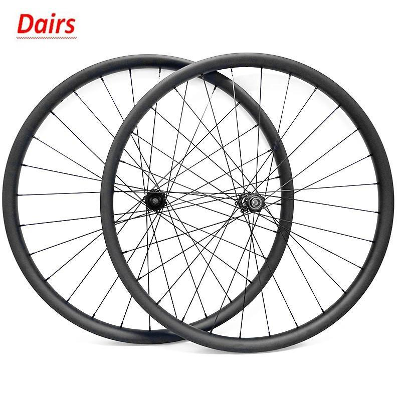 자전거 바퀴 29er MTB 디스크 카본 AM 34x30mm 딥 튜브 DT350S 스트레이트 풀 110 148 1420