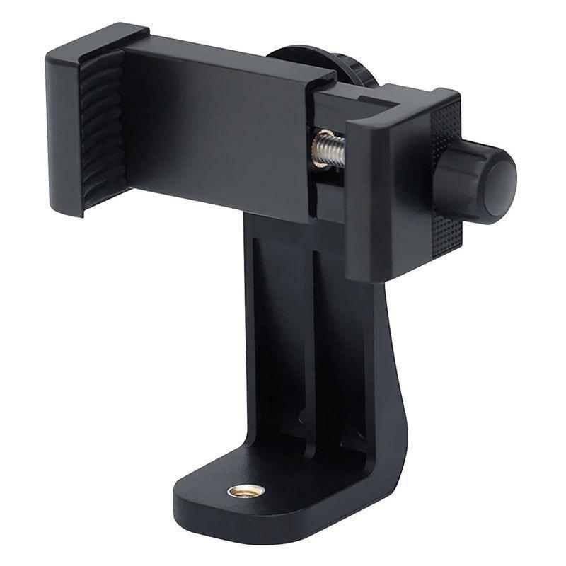 Suporte de telefone / vertical e horizontal Ofet rotativo do adaptador de montagem do tripé com furo de parafuso de 1/4 de polegada / suportes ajustáveis dos montagens do clipe ajustável