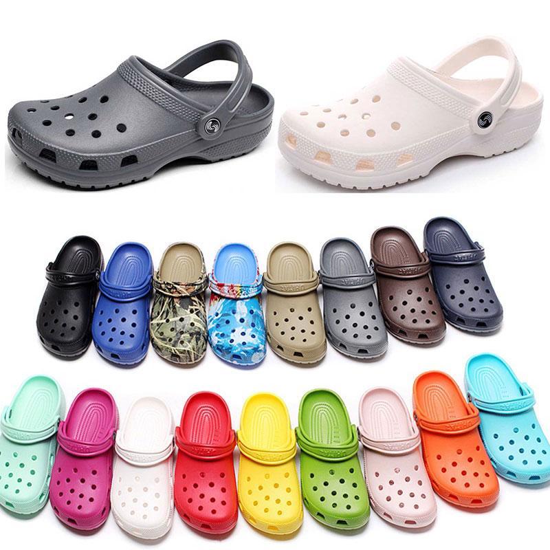 167 여성 패션 캐주얼 해변 나 나가서 방수 신발 남성 클래식 간호 분열 병원 여성 슬리퍼 작업 의료 샌들