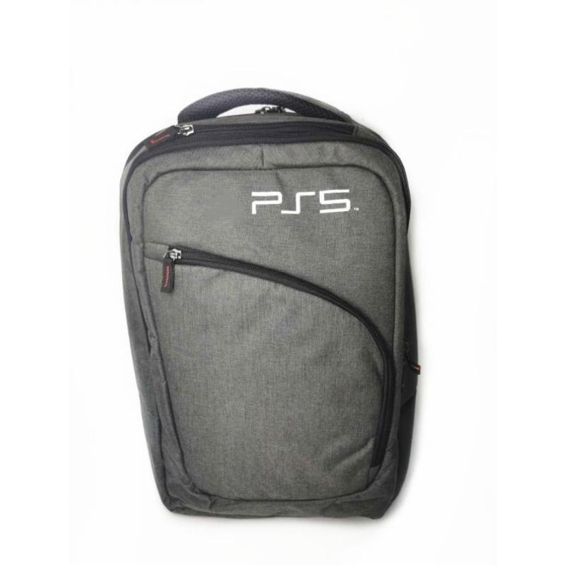 Travel Storage Bag For PS5 Shoulder Durable Waterproof Pouch Carry Backpack Game Controllers & Joysticks